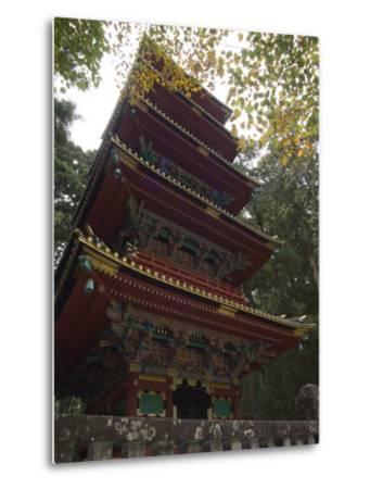 Pagoda at Toshogu Shrine, Nikko, Tochigi Prefecture, Japan-Christian Kober-Metal Print