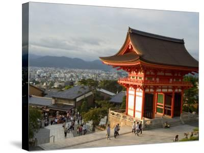 Kiyomizu Dera Temple, Unesco World Heritage Site, Kyoto City, Honshu, Japan-Christian Kober-Stretched Canvas Print