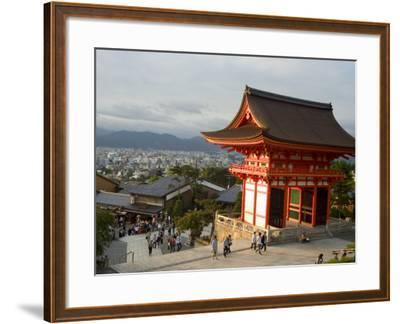 Kiyomizu Dera Temple, Unesco World Heritage Site, Kyoto City, Honshu, Japan-Christian Kober-Framed Photographic Print