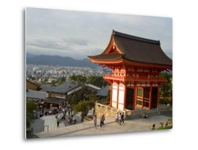 Kiyomizu Dera Temple, Unesco World Heritage Site, Kyoto City, Honshu, Japan-Christian Kober-Metal Print