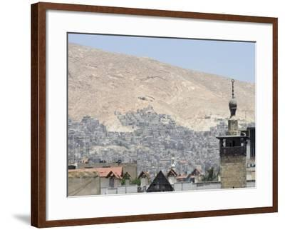 City View, Damascus, Syria, Middle East-Christian Kober-Framed Photographic Print