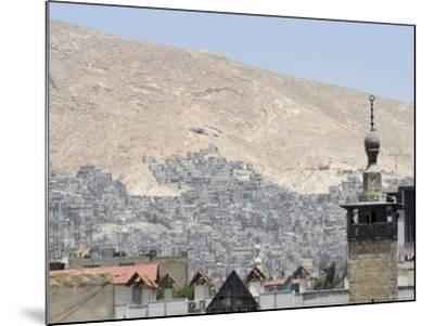 City View, Damascus, Syria, Middle East-Christian Kober-Mounted Photographic Print