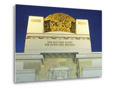 Detail of the Exterior of the Dome of the Art Nouveau Secession Building, Vienna, Austria-Richard Nebesky-Metal Print