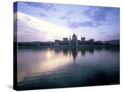 River Danube, Budapest, Hungary-Oliviero Olivieri-Stretched Canvas Print