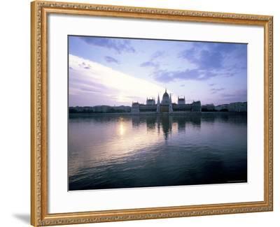 River Danube, Budapest, Hungary-Oliviero Olivieri-Framed Photographic Print