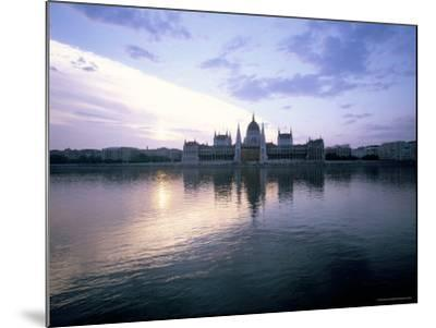 River Danube, Budapest, Hungary-Oliviero Olivieri-Mounted Photographic Print