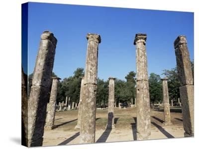 Olympia, Unesco World Heritage Site, Greece-Oliviero Olivieri-Stretched Canvas Print