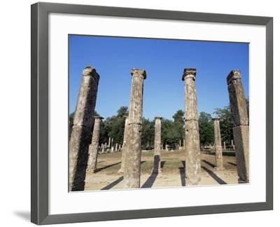 Olympia, Unesco World Heritage Site, Greece-Oliviero Olivieri-Framed Photographic Print