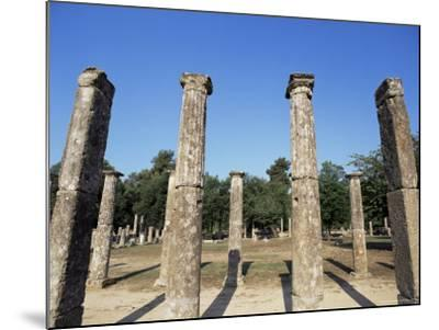 Olympia, Unesco World Heritage Site, Greece-Oliviero Olivieri-Mounted Photographic Print