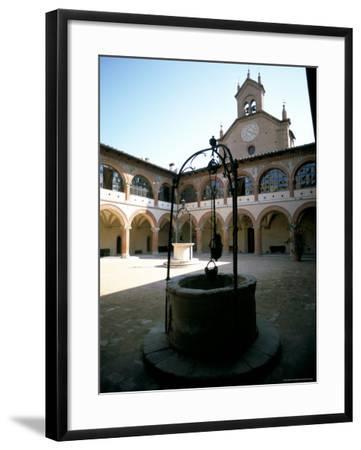 Collegio Di Spagna, Bologna, Emilia-Romagna, Italy-Oliviero Olivieri-Framed Photographic Print