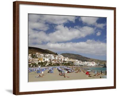 Playa De Las Americas, Tenerife, Canary Islands, Spain, Atlantic-Sergio Pitamitz-Framed Photographic Print