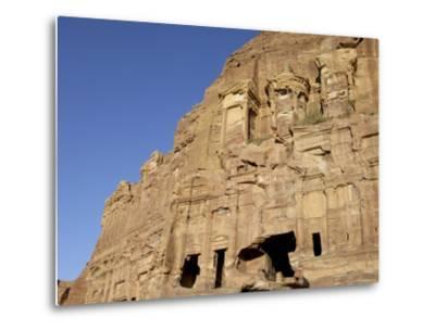 Corinthian Tomb, Petra, Unesco World Heritage Site, Jordan, Middle East-Sergio Pitamitz-Metal Print