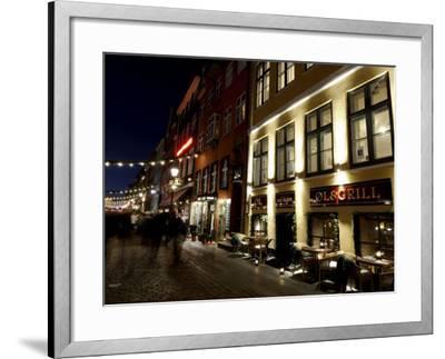 Nyhavn at Christmas, Copenhagen, Denmark, Scandinavia-Sergio Pitamitz-Framed Photographic Print