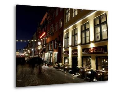 Nyhavn at Christmas, Copenhagen, Denmark, Scandinavia-Sergio Pitamitz-Metal Print