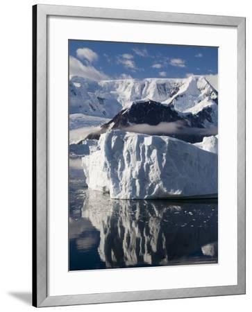 Gerlache Strait, Antarctic Peninsula, Antarctica, Polar Regions-Sergio Pitamitz-Framed Photographic Print