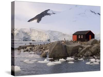 British Base, Port Lockroy, Antarctic Peninsula, Antarctica, Polar Regions-Sergio Pitamitz-Stretched Canvas Print