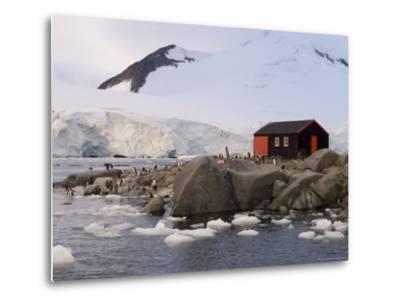 British Base, Port Lockroy, Antarctic Peninsula, Antarctica, Polar Regions-Sergio Pitamitz-Metal Print