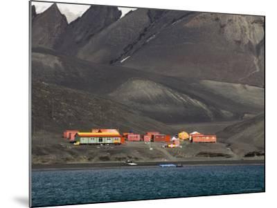 Spanish Base, Deception Island, South Shetland Islands, Antarctica, Polar Regions-Sergio Pitamitz-Mounted Photographic Print
