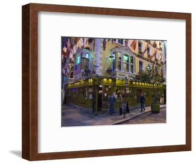 The Oliver St. John Gogarty Pub, Temple Bar, Dublin, County Dublin, Republic of Ireland (Eire)-Sergio Pitamitz-Framed Photographic Print