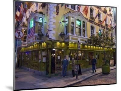 The Oliver St. John Gogarty Pub, Temple Bar, Dublin, County Dublin, Republic of Ireland (Eire)-Sergio Pitamitz-Mounted Photographic Print
