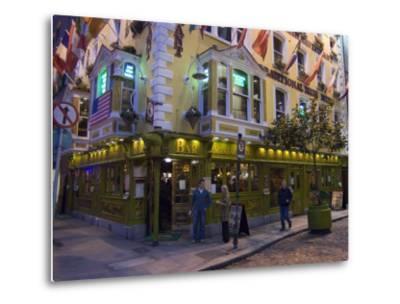 The Oliver St. John Gogarty Pub, Temple Bar, Dublin, County Dublin, Republic of Ireland (Eire)-Sergio Pitamitz-Metal Print