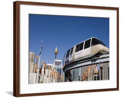 Darling Harbour, Sydney, New South Wales, Australia-Sergio Pitamitz-Framed Photographic Print
