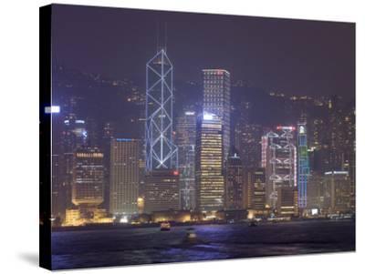 Hong Kong, China-Sergio Pitamitz-Stretched Canvas Print