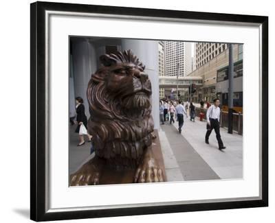 Hsbc Building, Central District, Hong Kong, China-Sergio Pitamitz-Framed Photographic Print