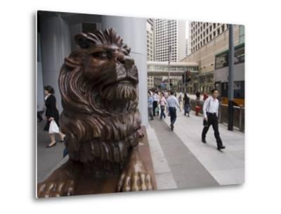 Hsbc Building, Central District, Hong Kong, China-Sergio Pitamitz-Metal Print