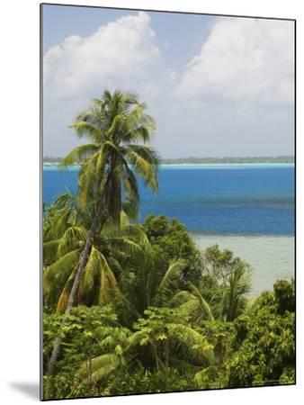 Bora-Bora, Leeward Group, Society Islands, French Polynesia Islands-Sergio Pitamitz-Mounted Photographic Print