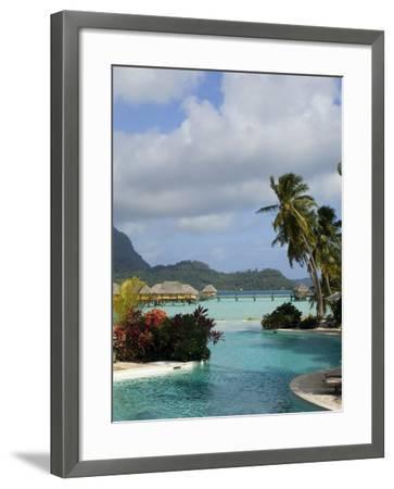 Pearl Beach Resort, Bora-Bora, Leeward Group, Society Islands, French Polynesia-Sergio Pitamitz-Framed Photographic Print