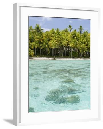 Bora-Bora, Leeward Group, Society Islands, French Polynesia Islands-Sergio Pitamitz-Framed Photographic Print