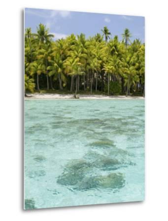 Bora-Bora, Leeward Group, Society Islands, French Polynesia Islands-Sergio Pitamitz-Metal Print