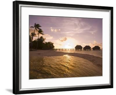 Pearl Beach Resort, Tikehau, Tuamotu Archipelago, French Polynesia Islands-Sergio Pitamitz-Framed Photographic Print
