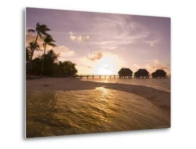 Pearl Beach Resort, Tikehau, Tuamotu Archipelago, French Polynesia Islands-Sergio Pitamitz-Metal Print