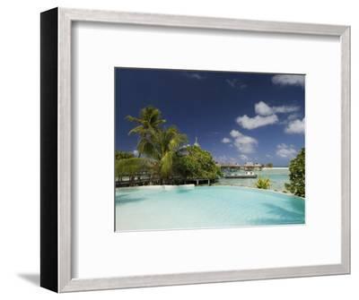 Pearl Beach Resort, Tikehau, Tuamotu Archipelago, French Polynesia Islands-Sergio Pitamitz-Framed Photographic Print