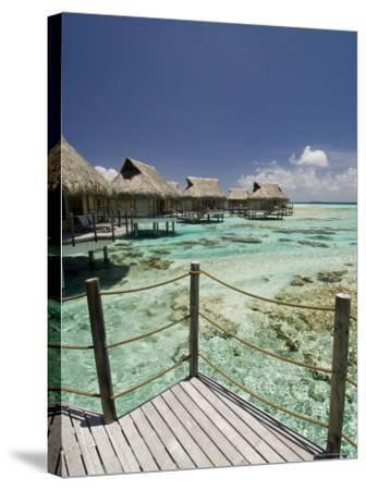 Pearl Beach Resort, Tikehau, Tuamotu Archipelago, French Polynesia Islands-Sergio Pitamitz-Stretched Canvas Print