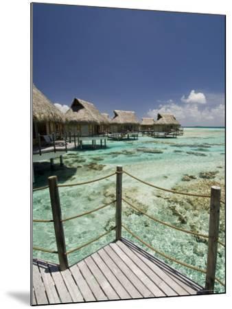Pearl Beach Resort, Tikehau, Tuamotu Archipelago, French Polynesia Islands-Sergio Pitamitz-Mounted Photographic Print