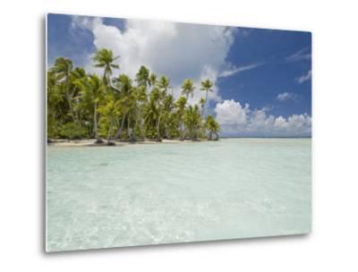 Blue Lagoon, Rangiroa, Tuamotu Archipelago, French Polynesia Islands-Sergio Pitamitz-Metal Print