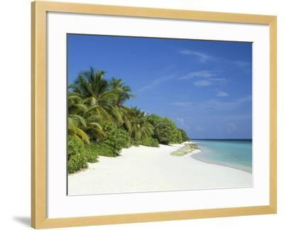 Soneva Fushi Resort, Kunfunadhoo Island, Baa Atoll, Maldives, Indian Ocean-Sergio Pitamitz-Framed Photographic Print