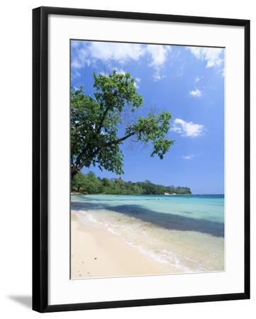 San San Beach, Port Antonio, Jamaica, West Indies, Central America-Sergio Pitamitz-Framed Photographic Print