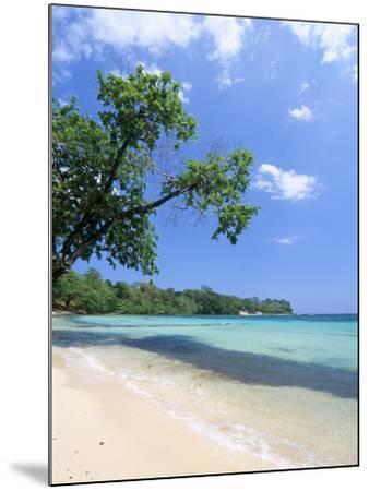 San San Beach, Port Antonio, Jamaica, West Indies, Central America-Sergio Pitamitz-Mounted Photographic Print
