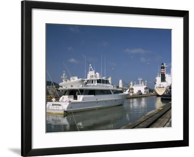 Miraflores Locks, Panama Canal, Panama, Central America-Sergio Pitamitz-Framed Photographic Print