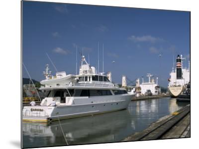 Miraflores Locks, Panama Canal, Panama, Central America-Sergio Pitamitz-Mounted Photographic Print