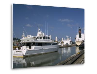 Miraflores Locks, Panama Canal, Panama, Central America-Sergio Pitamitz-Metal Print