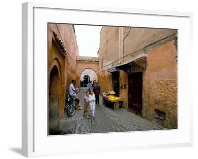 Souk, Marrakech (Marrakesh), Morocco, North Africa, Africa-Sergio Pitamitz-Framed Photographic Print