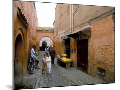 Souk, Marrakech (Marrakesh), Morocco, North Africa, Africa-Sergio Pitamitz-Mounted Photographic Print