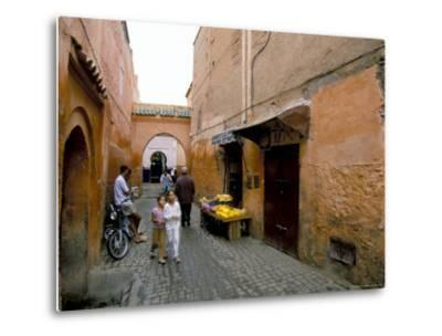 Souk, Marrakech (Marrakesh), Morocco, North Africa, Africa-Sergio Pitamitz-Metal Print