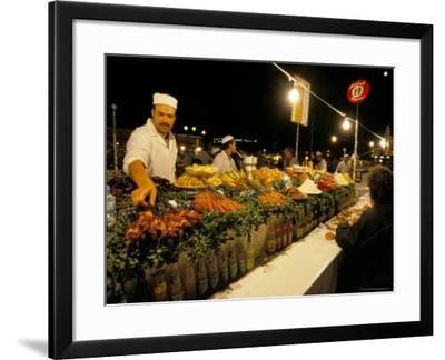 Place Jemaa El Fna, Marrakech (Marrakesh), Morocco, North Africa, Africa-Sergio Pitamitz-Framed Photographic Print