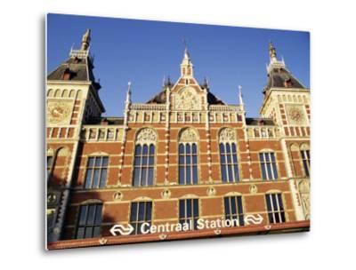 Central Station, Amsterdam, the Netherlands (Holland)-Sergio Pitamitz-Metal Print